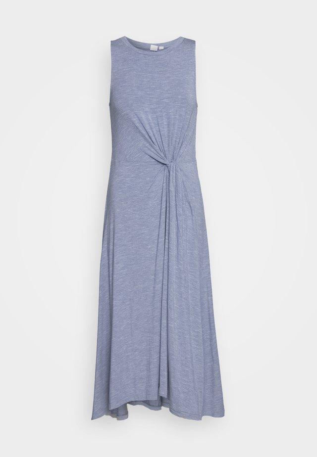 KNOT WAIST - Vestido ligero - blue heather