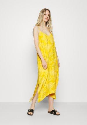 MIDI HANKY DRESS - Day dress - yellow