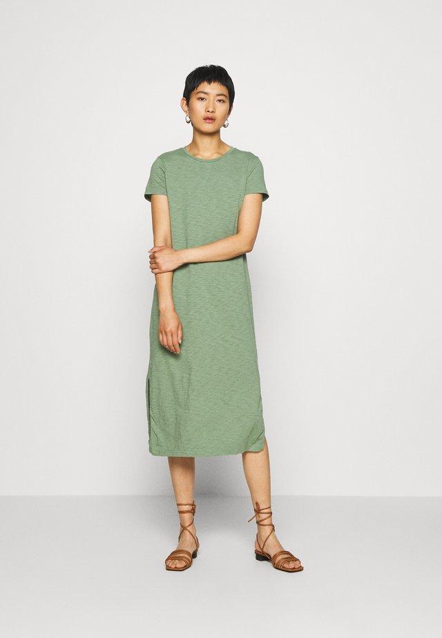 CREW DRESS - Jerseyjurk - twig