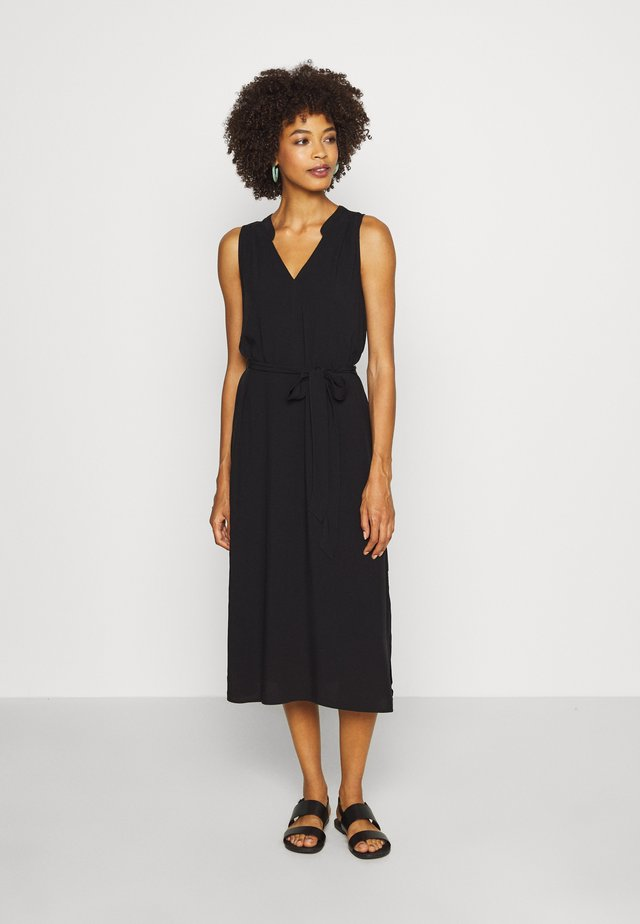ZEN DRESS - Korte jurk - true black