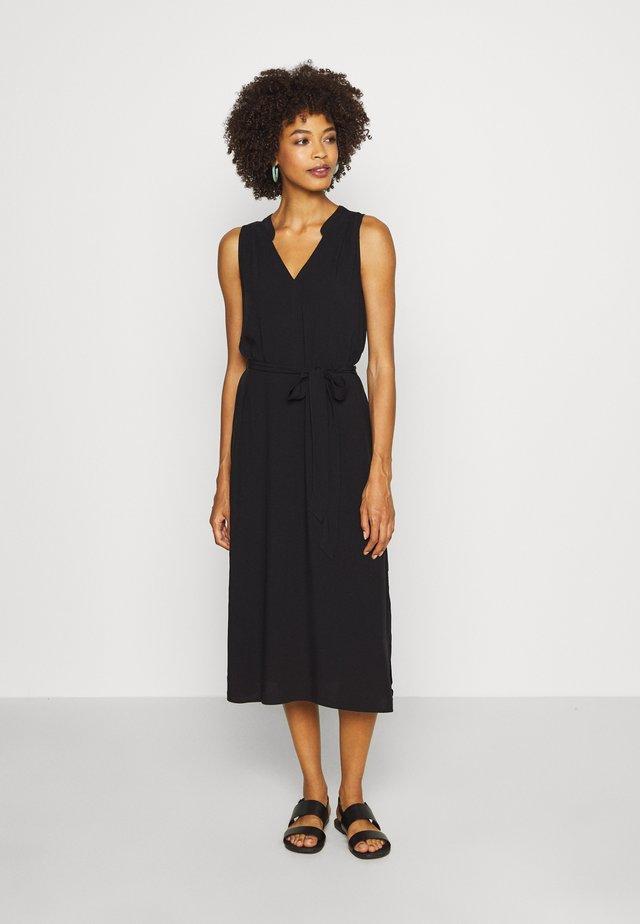 ZEN DRESS - Day dress - true black