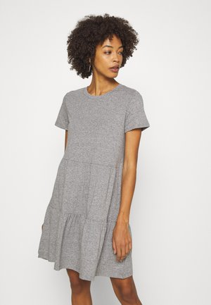 TIERD - Jersey dress - heather grey