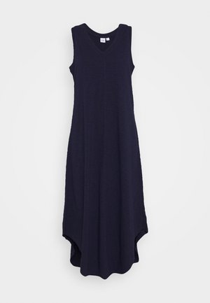 TANK MIDI DRESS - Jersey dress - navy uniform
