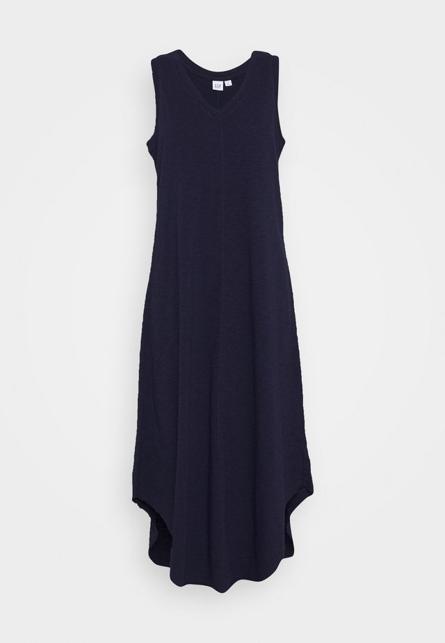 TANK MIDI DRESS - Trikoomekko - navy uniform