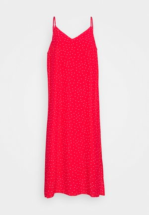 TIE CAMI DRESS - Korte jurk - red
