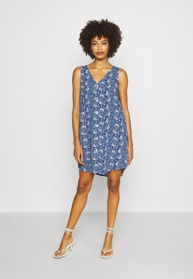 DRESS - Korte jurk - blue