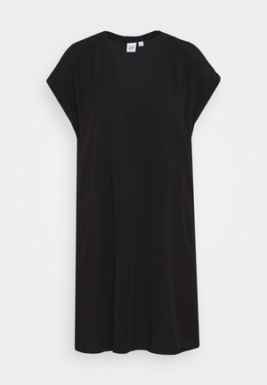 DRESS - Denní šaty - true black