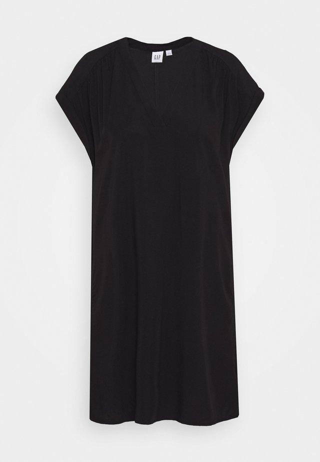 DRESS - Korte jurk - true black