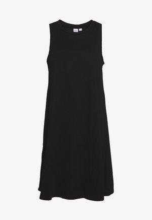SWING - Jersey dress - true black
