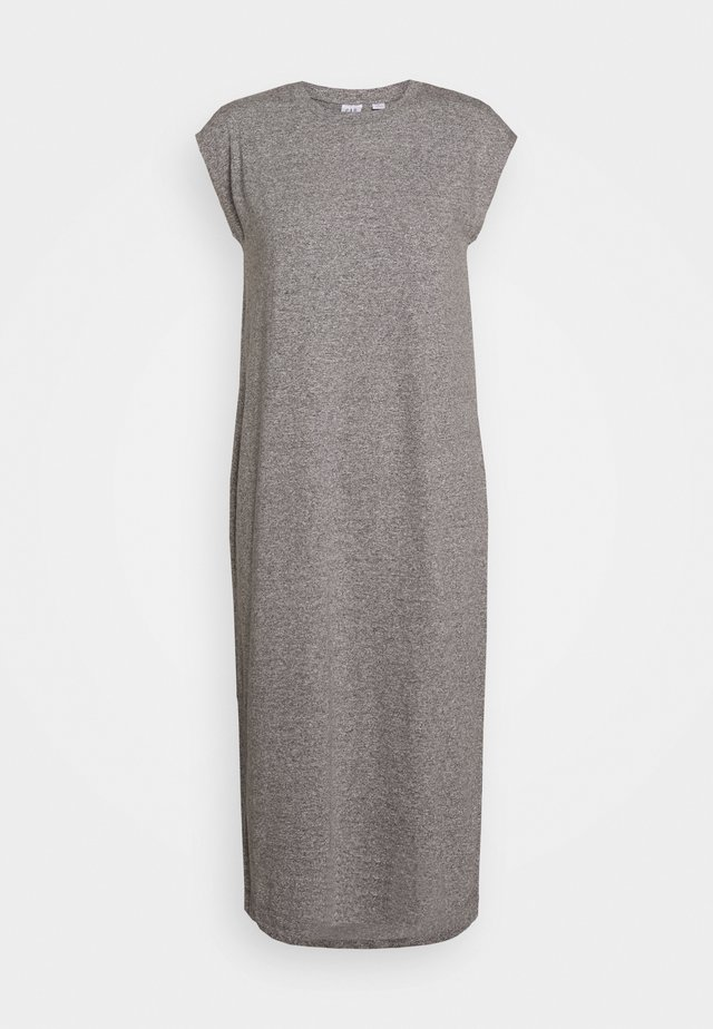 MIDI - Jerseykleid - heather grey