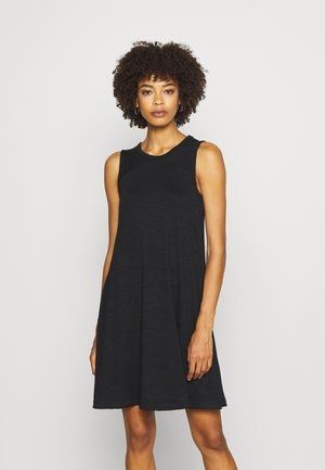 SOFTSPUN DRESS - Vestido ligero - true black