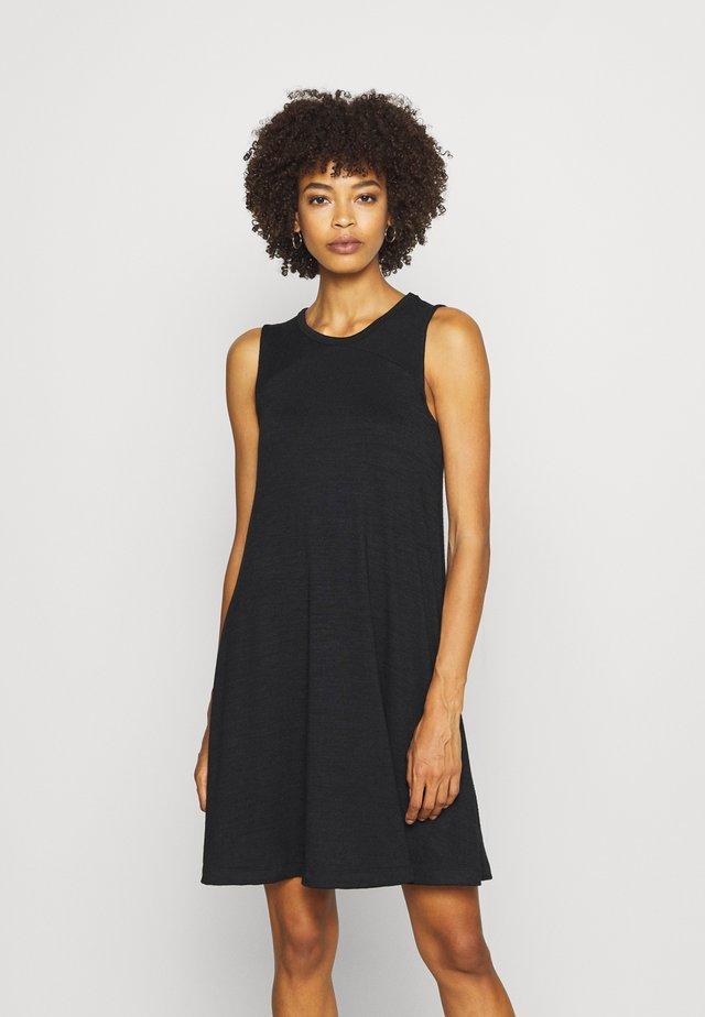 SOFTSPUN DRESS - Vestido ligero - true black