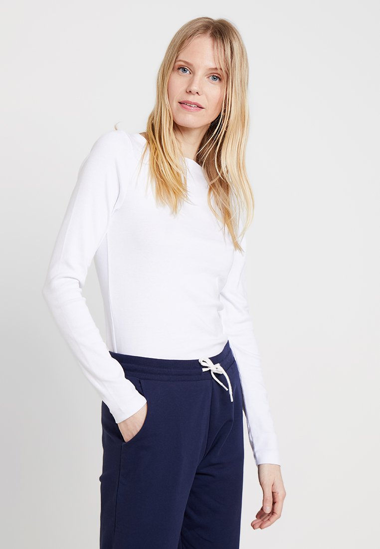 GAP - BOAT - Long sleeved top - optic white