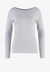 GAP - BOAT - Topper langermet - heather grey - 4