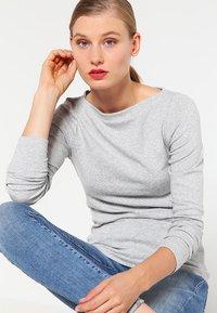 GAP - BOAT - Long sleeved top - heather grey - 0