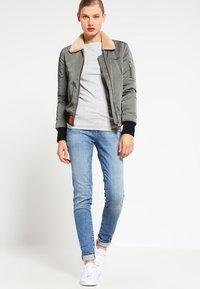 GAP - BOAT - Long sleeved top - heather grey - 1