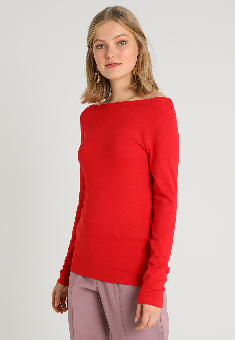 GAP - BOAT - Top sdlouhým rukávem - modern red