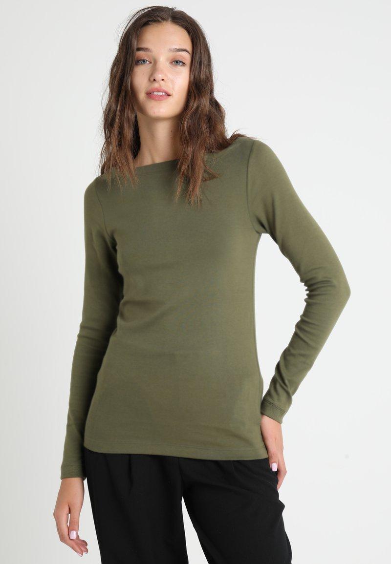 GAP - BOAT - Top sdlouhým rukávem - army jacket green