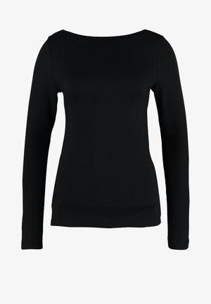 BOAT - Langærmede T-shirts - true black