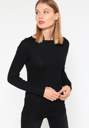BOAT - T-shirt à manches longues - true black