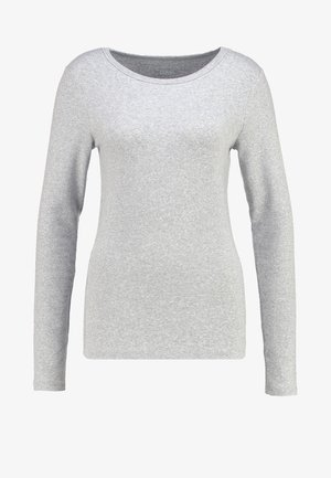 CREW TEE - Topper langermet - heather grey