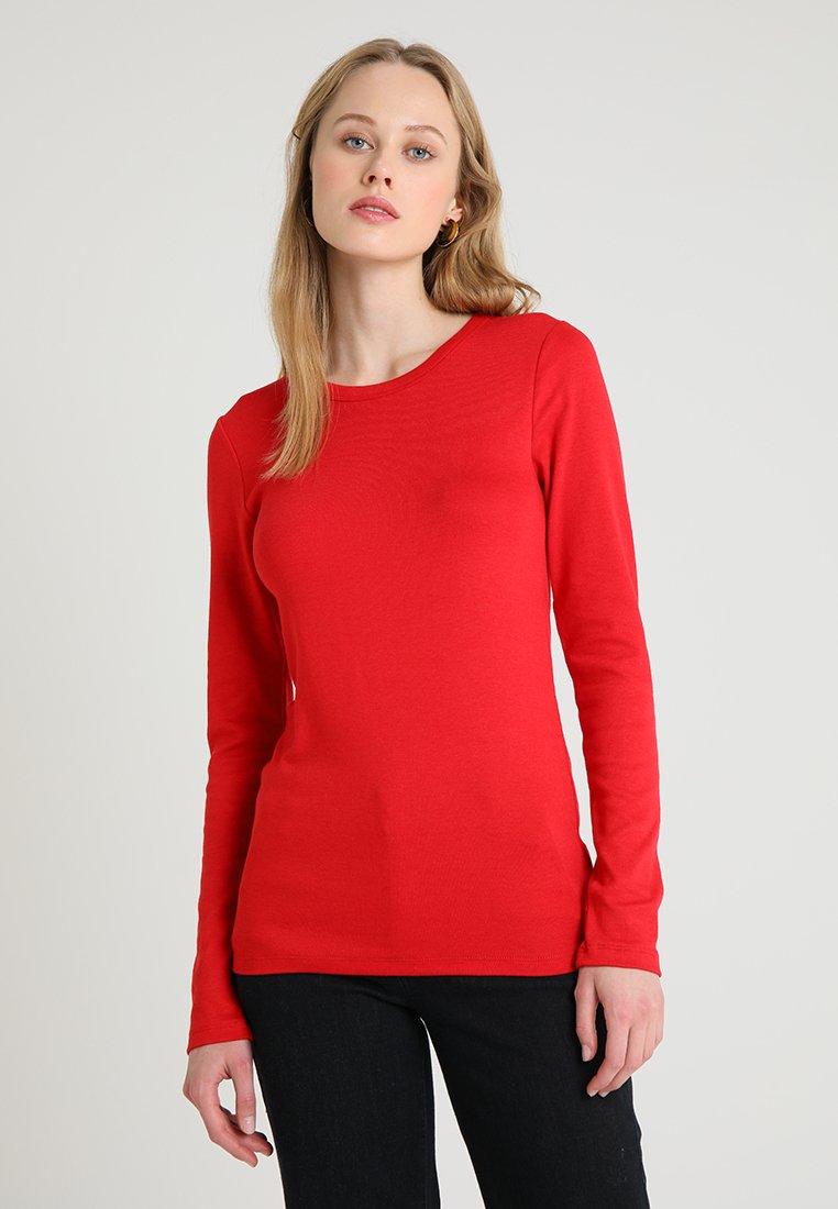 GAP - CREW TEE - Langarmshirt - modern red