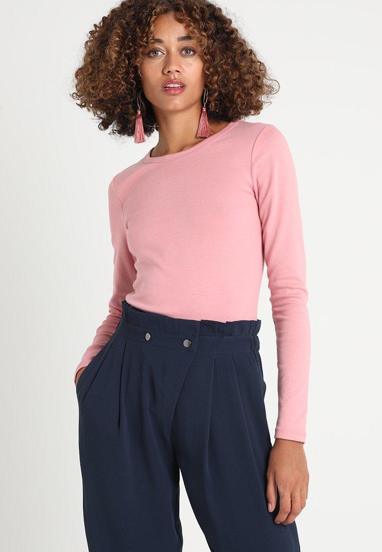 GAP - CREW TEE - Langarmshirt - soft potpourri pink