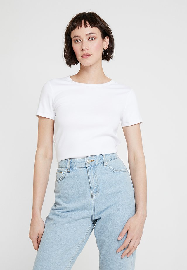 MOD CREW - T-shirt basic - optic white