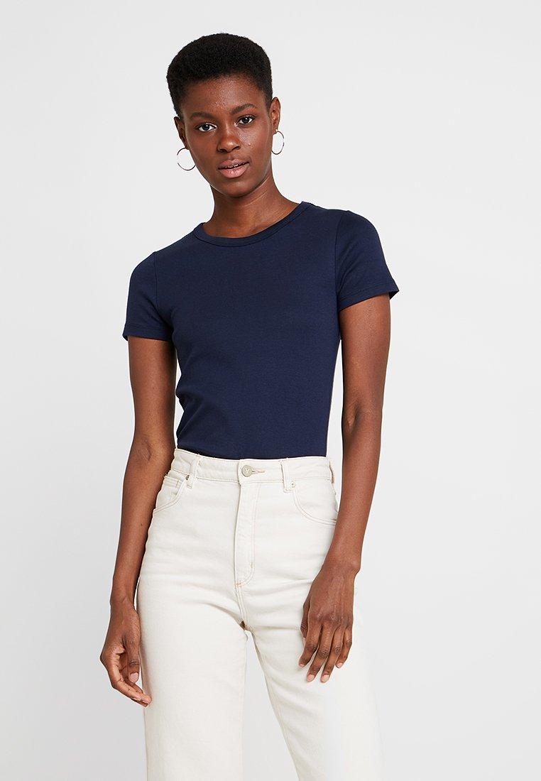 GAP - MOD CREW - Basic T-shirt - true indigo