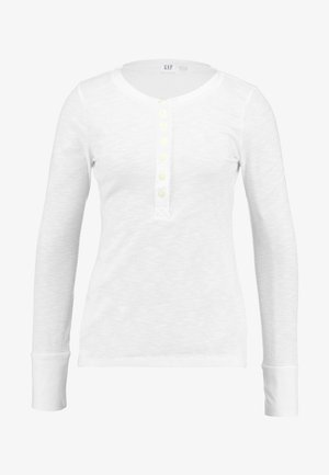 Long sleeved top - spot milk