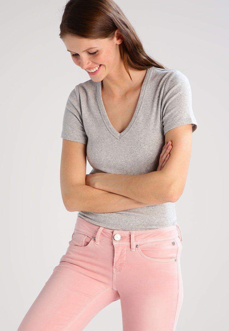 GAP - TEE - Camiseta básica - heather grey
