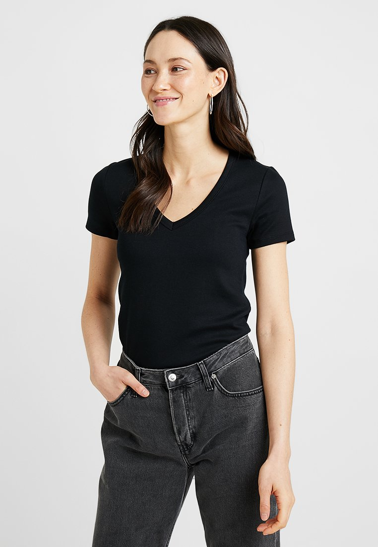 GAP - TEE - Camiseta básica - true black