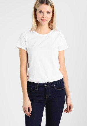 VINT CREW - Jednoduché triko - optic white