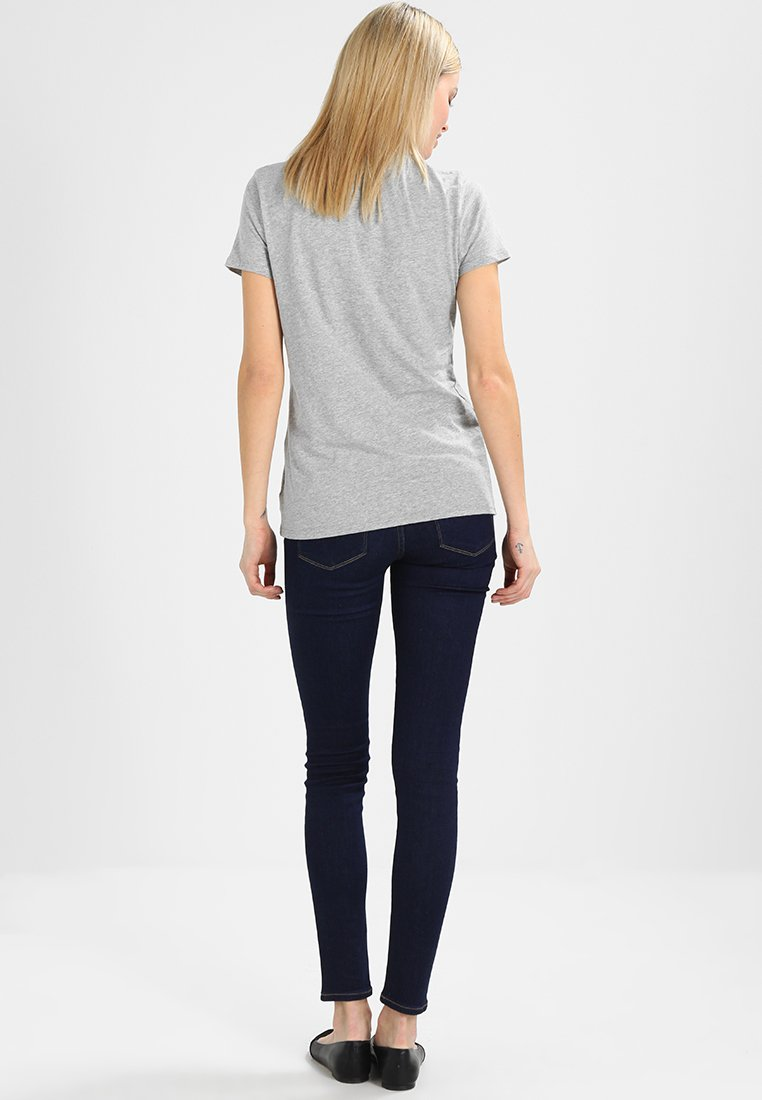 CrewT Grey Vint shirt Basique Gap Heather 8wOm0PyNvn