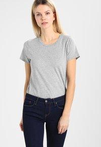 GAP - VINT CREW - Camiseta básica - heather grey - 0