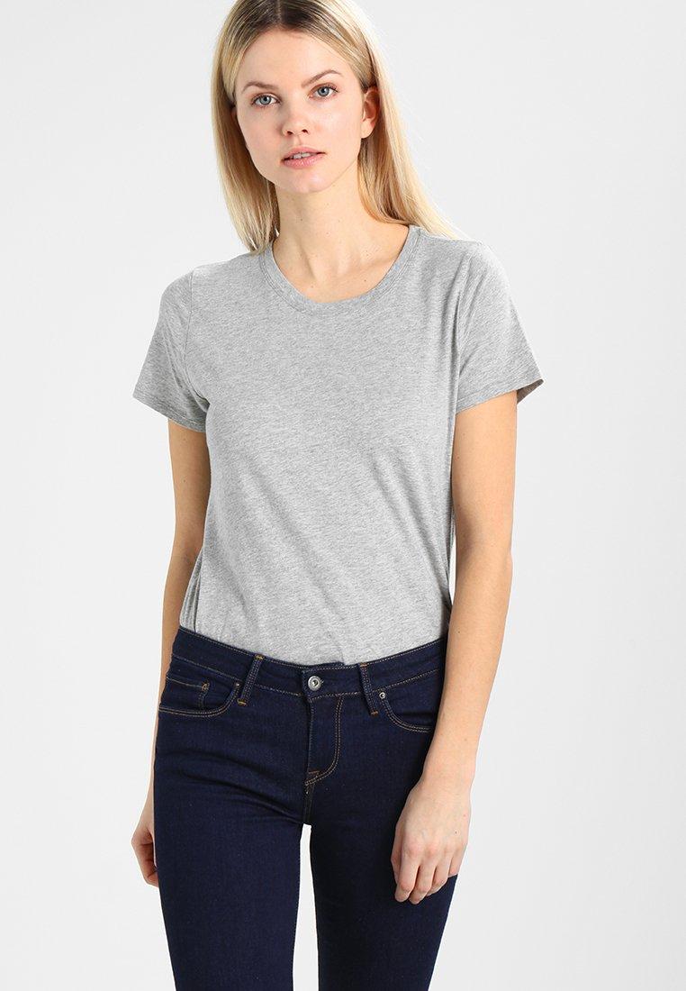 GAP - VINT CREW - Camiseta básica - heather grey