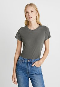 GAP - VINT CREW - T-shirts - baby tweed - 0