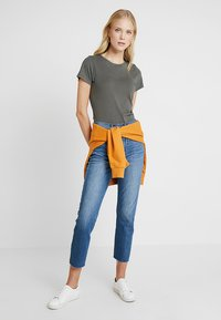 GAP - VINT CREW - T-shirts - baby tweed - 1