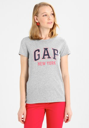 CITY TEE NEW YORK - T-shirts print - light heather grey