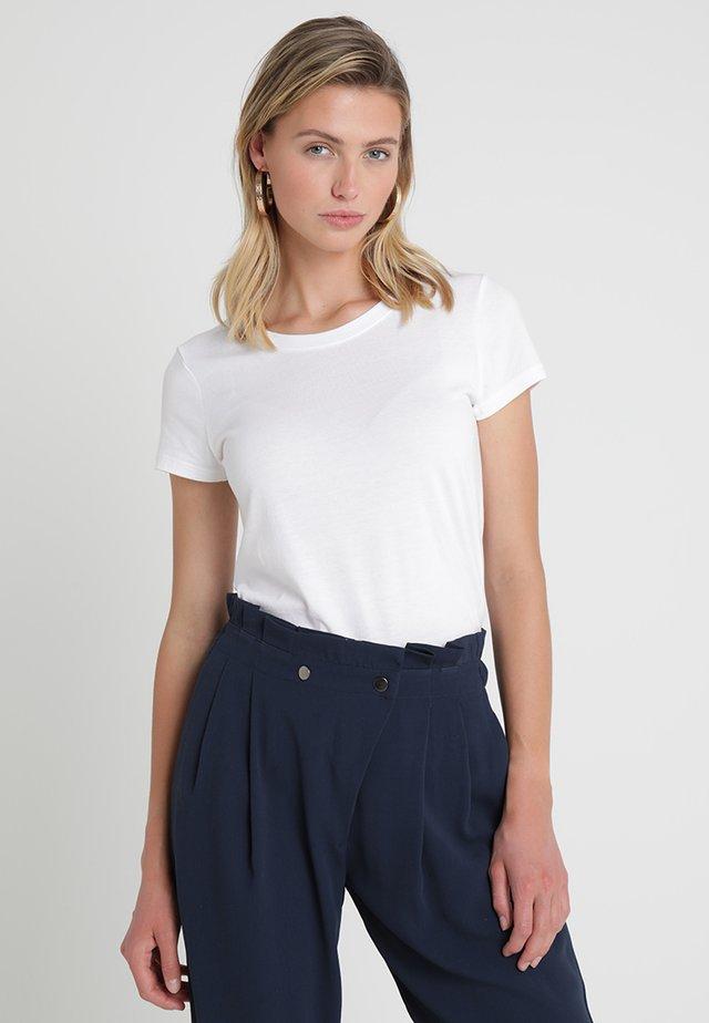 FAV CREW - T-shirt basic - white