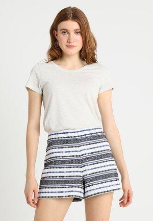 FAV CREW - Basic T-shirt - light heather grey