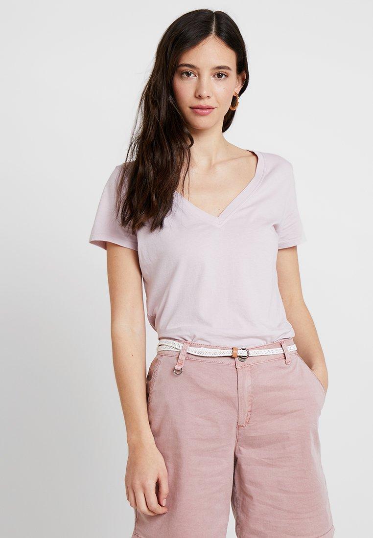 GAP - T-Shirt basic - pale plum