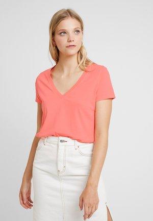 T-shirt z nadrukiem - neon blazing pink