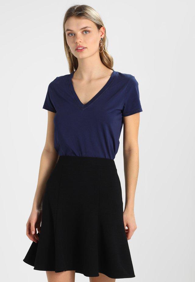 VINT - T-shirt print - navy uniform