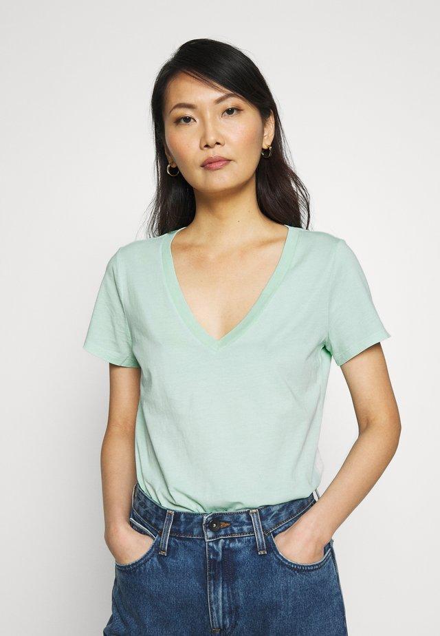 VINT - T-shirt z nadrukiem - fantasy aqua