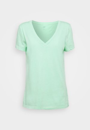 VINT - T-shirt z nadrukiem - jamaica green