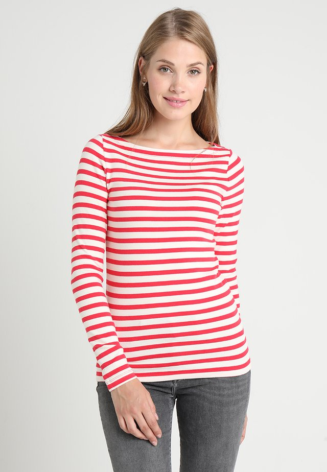 BOAT - Long sleeved top - red