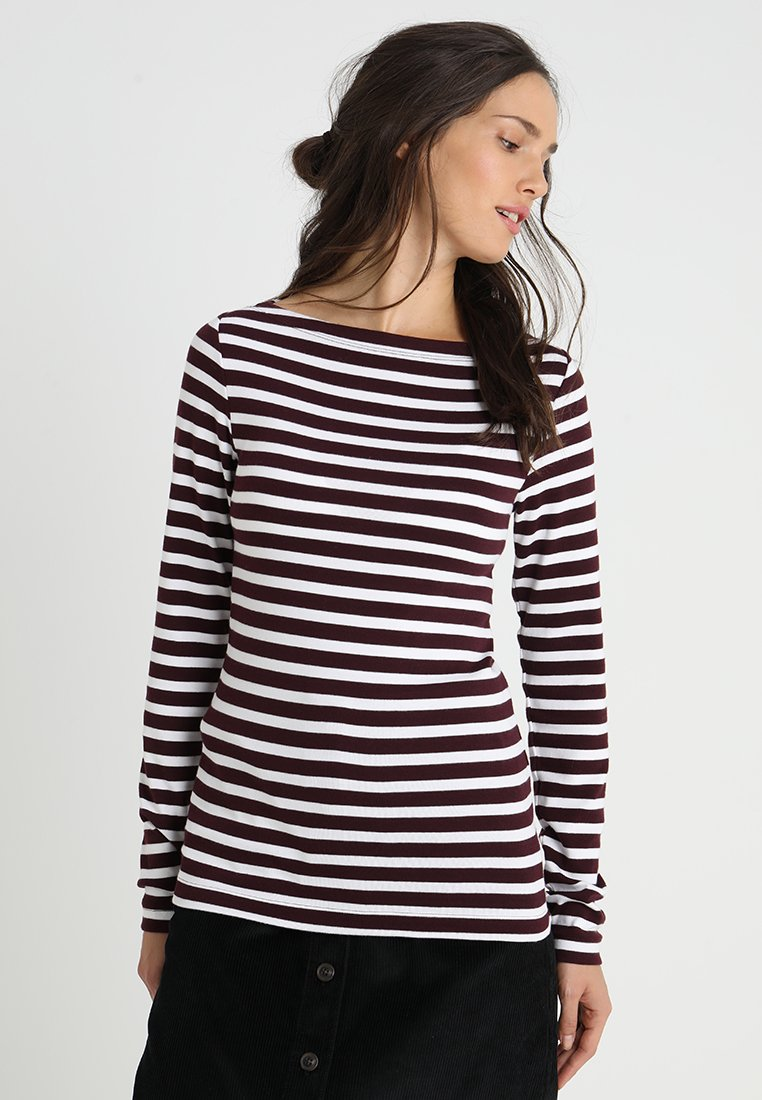 GAP - BOAT - Langarmshirt - burgundy