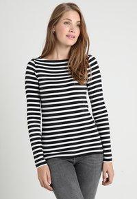 GAP - BOAT - Camiseta de manga larga - black - 0