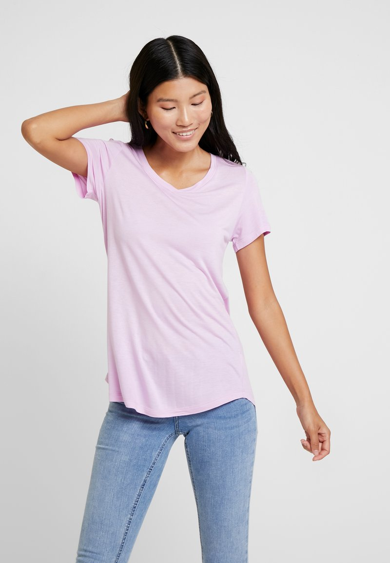 GAP - LUXE - Jednoduché triko - lavender pink